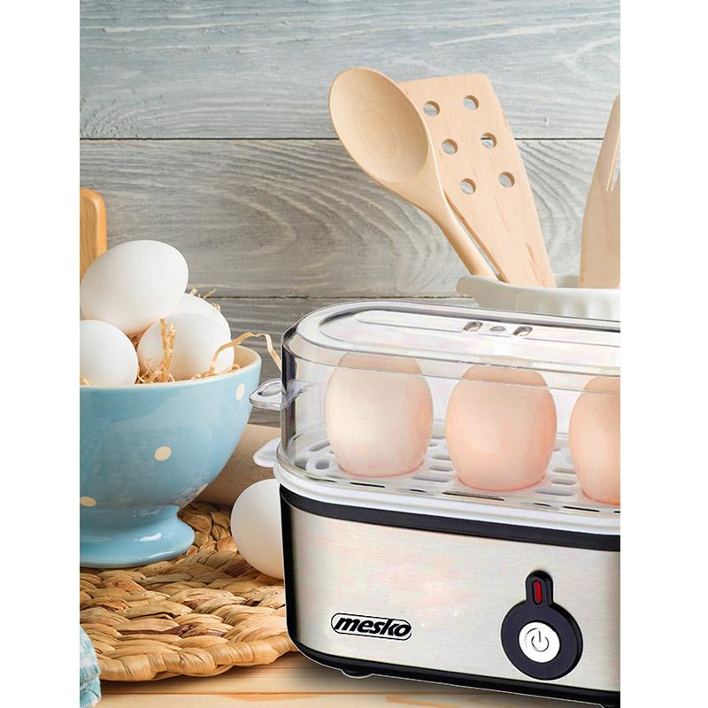 Ηλεκτρικός Βραστήρας Αυγών 3 Θέσεων 350 W Mesko MS-4485