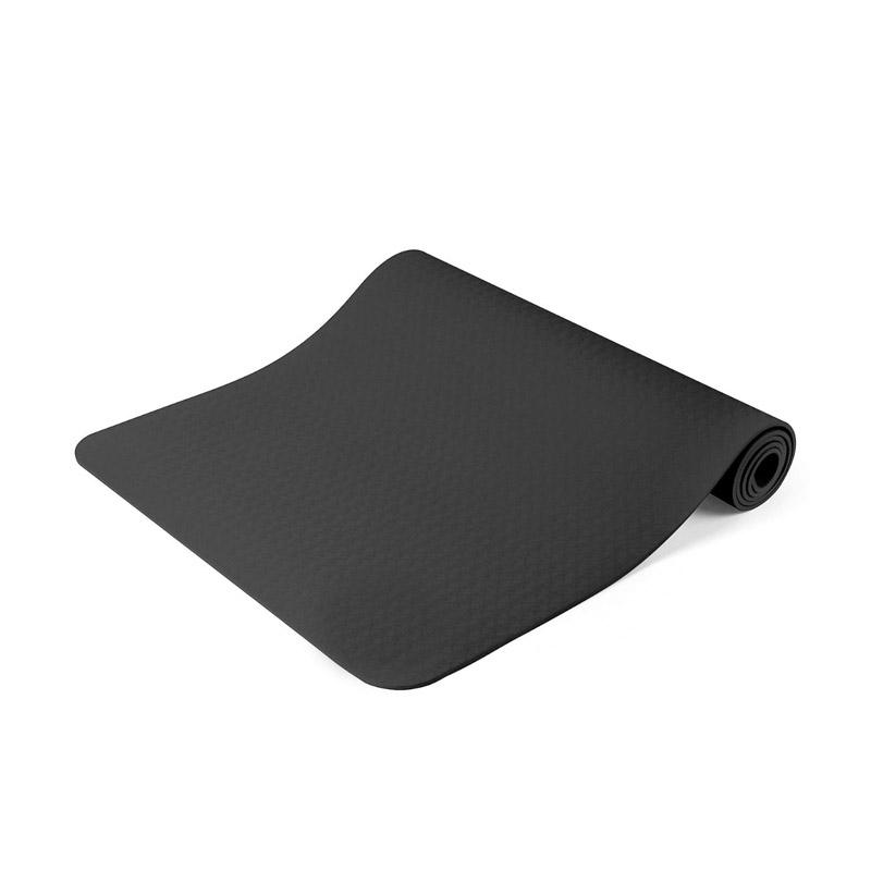 Στρώμα Γιόγκα με Θήκη Μεταφοράς Χρώματος Μαύρο Hoppline HOP1000972-1