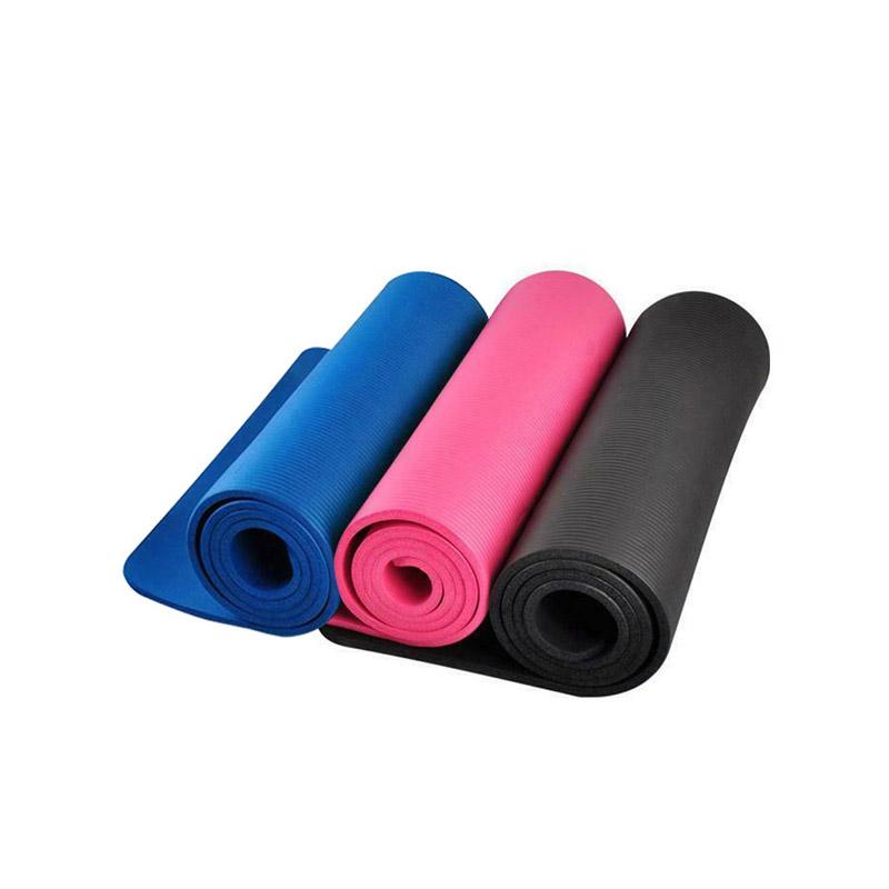 Στρώμα Γιόγκα με Θήκη Μεταφοράς Χρώματος Μπλε Hoppline HOP1000972-2