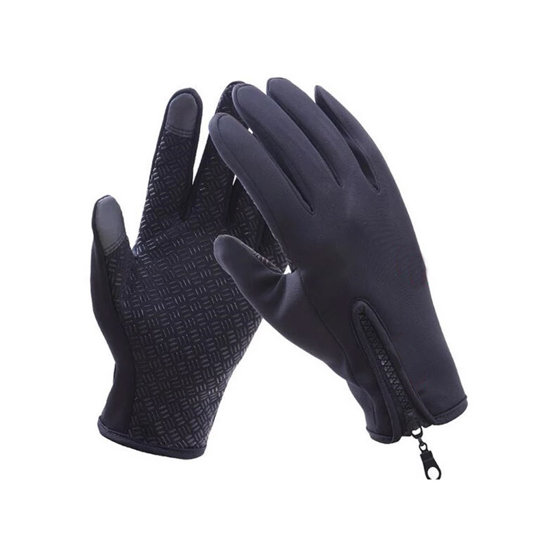 Γάντια Ποδηλάτου για Οθόνη Αφής Touch Screen Gloves Χρώματος Μαύρο Extra Large SPM DB4839