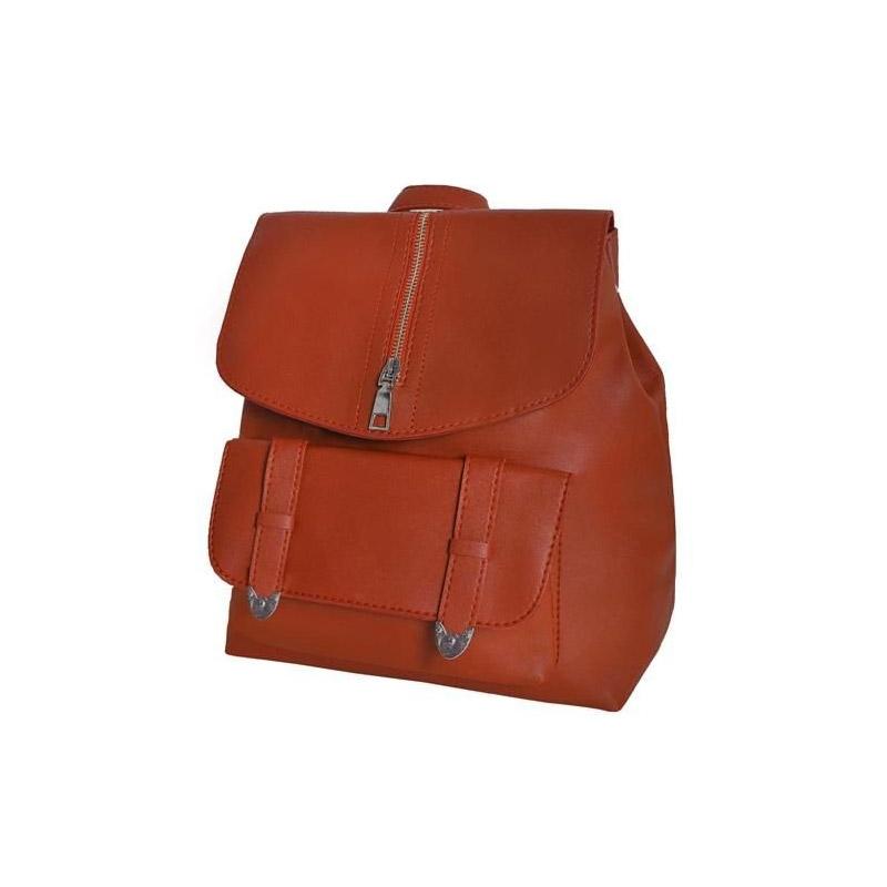 Γυναικεία Τσάντα Πλάτης Χρώματος Καφέ SPM 8909