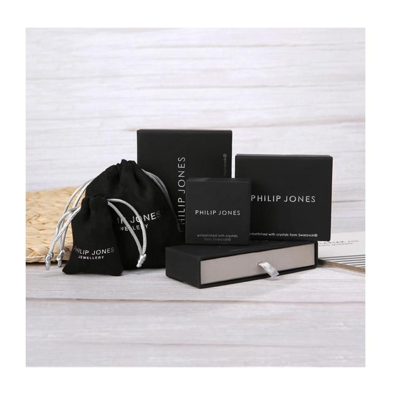 Κολιέ Philip Jones με Γενέθλια Πέτρα Μάιος - Emerald με Κρύσταλλα Swarovski®