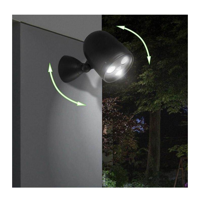 LED Λάμπα Τοίχου 3 W με Ανιχνευτή Κίνησης LED Lovers Brighton 8715342023571