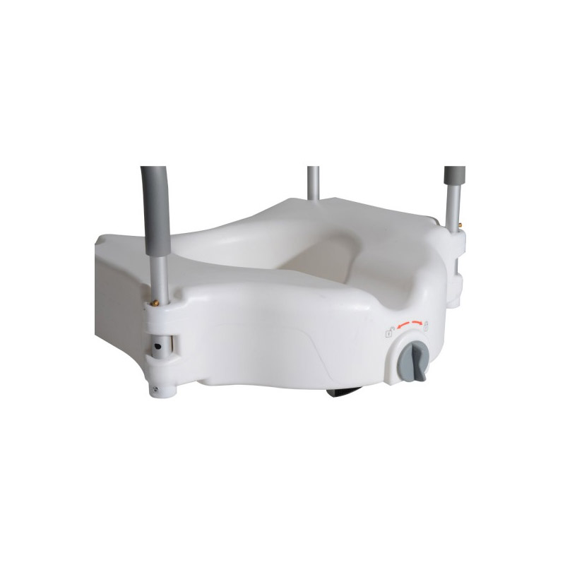 Ανυψωτικό Κάθισμα Τουαλέτας 12 cm με Μπράτσα - Βραχίονες HOMCOM 811-030