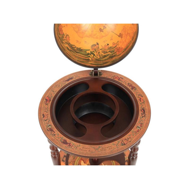 Ξύλινο Μπαρ Υδρόγειος -  Κάβα για Κρασιά HOMCOM 801-041