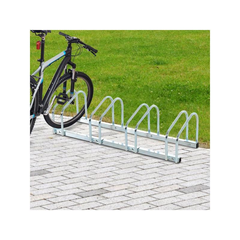 Μεταλλική Μπάρα Στάθμευσης 4 Ποδηλάτων HOMCOM AA0-024