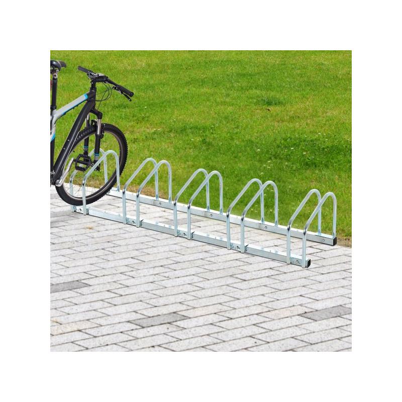 Μεταλλική Μπάρα Στάθμευσης 5 Ποδηλάτων HOMCOM AA0-025