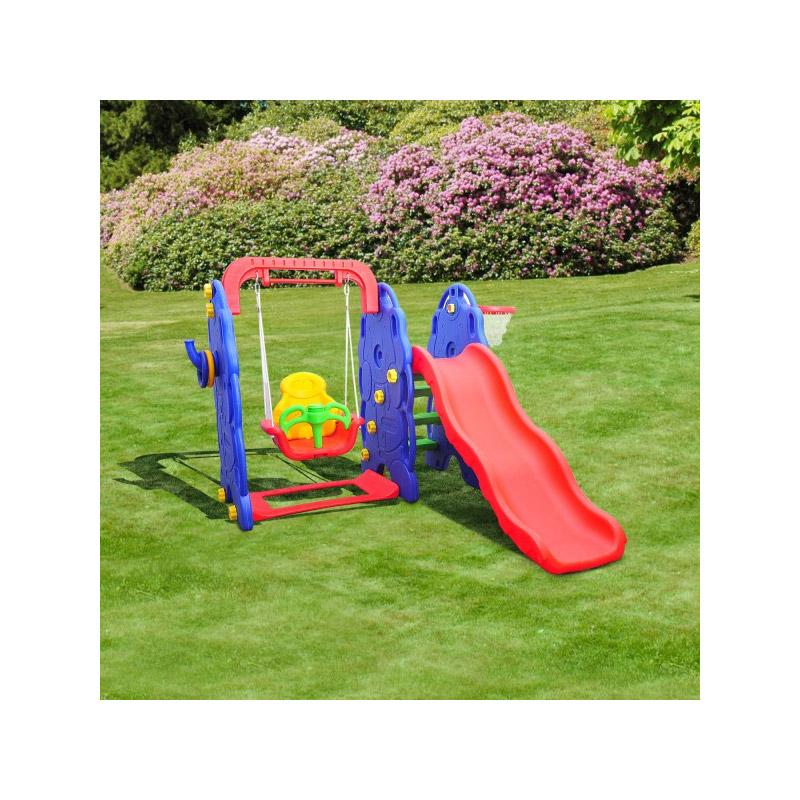 Παιδική Χαρά Κήπου 3 σε 1 167 x 164 x 120 cm HOMCOM 54-0019