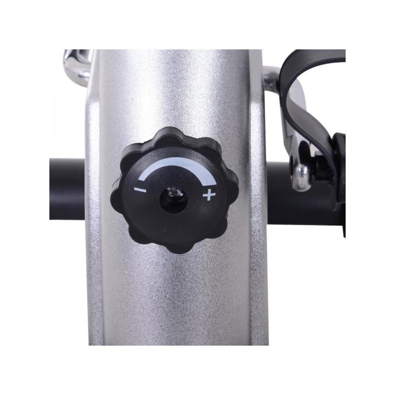 Ποδήλατο Γυμναστικής - Πεταλιέρα Χρώματος Ασημί HOMCOM A90-179SR