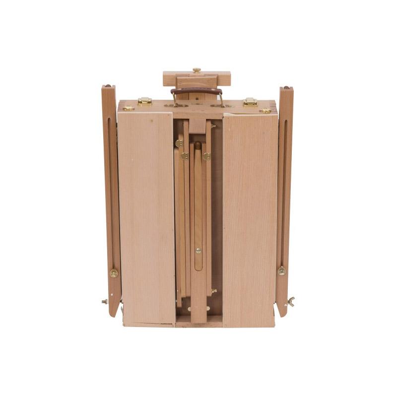 Ξύλινο Αναδιπλούμενο Καβαλέτο Ζωγραφικής 105 x 77 x 184 cm HOMCOM 914-001
