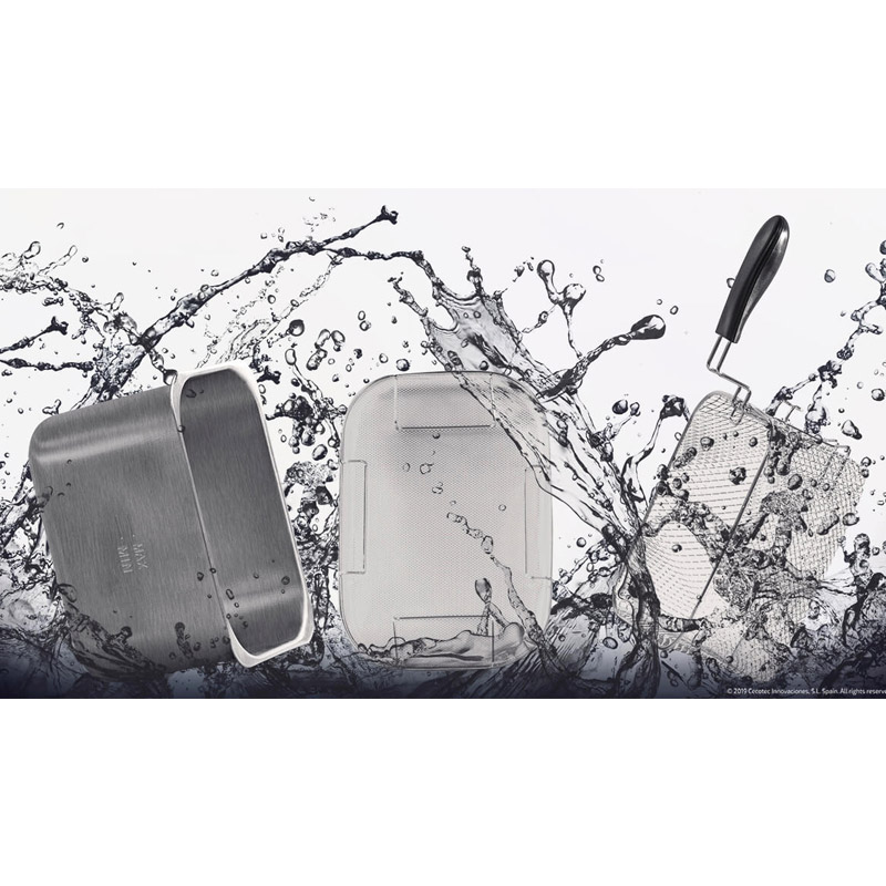 Φριτέζα με Φίλτρο Καθαρισμού Λαδιού Cecotec CleanFry Infinity 4000 Full Inox 4 Lt CEC-03076