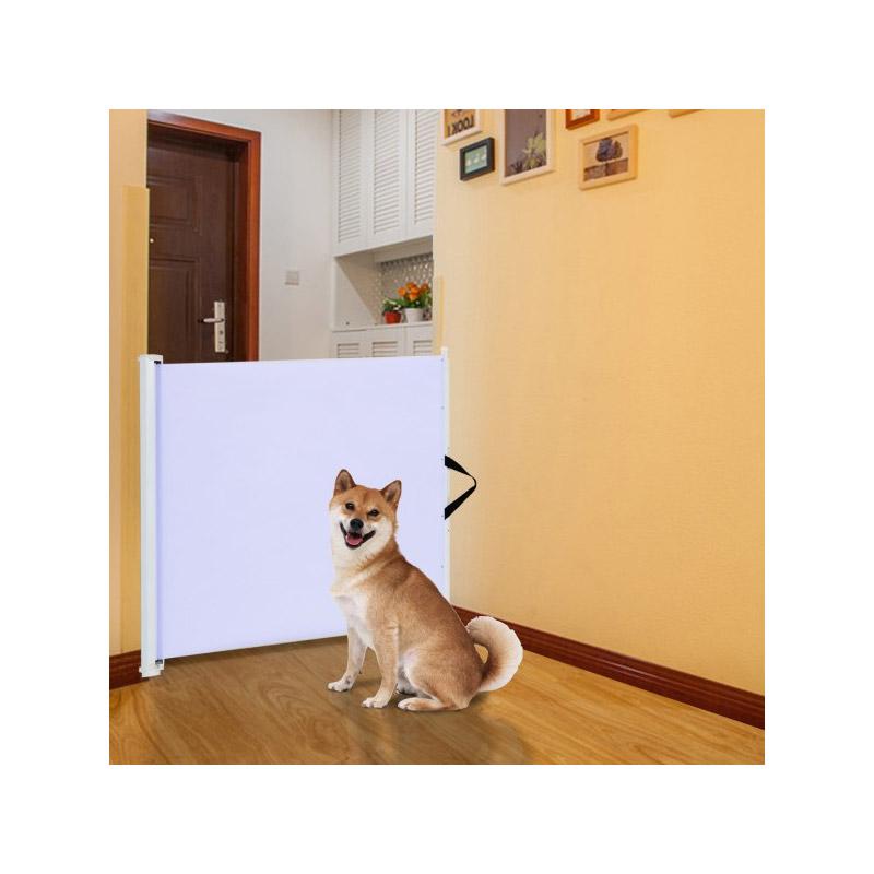 Πτυσσόμενη Πόρτα Ασφαλείας για Κατοικίδια PawHut D06-030