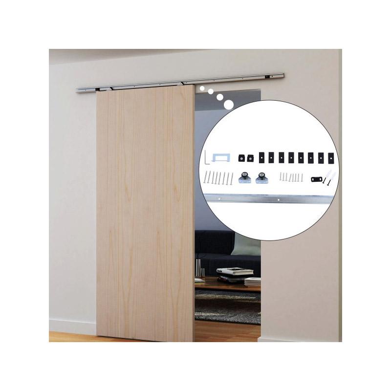 Σετ Μηχανισμού για Συρόμενες Ξύλινες Πόρτες 1.86 m HOMCOM B81-001