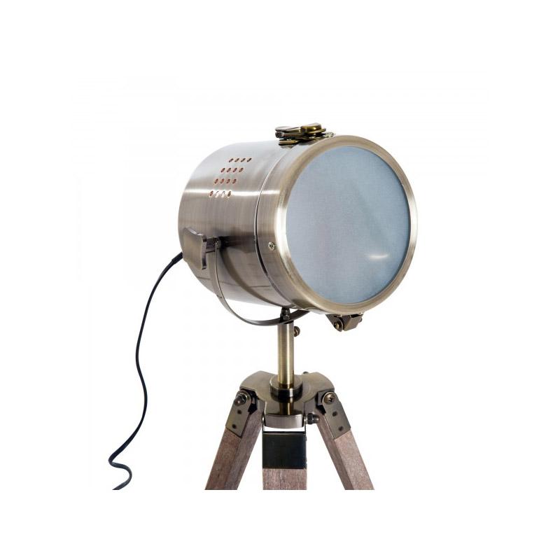 Ξύλινο Vintage Τρίποδο Επιτραπέζιο Φωτιστικό 33L 25 W HOMCOM B31-075