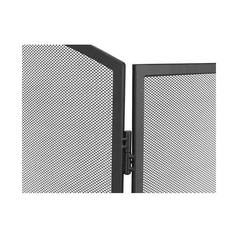Μεταλλική Σίτα Τζακιού Τρίφυλλη 118 x 76.5 cm Kaminer 8787
