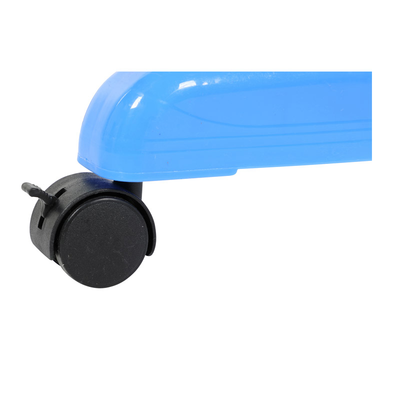 Πτυσσόμενη Απλώστρα Πολλαπλών Χρήσεων με Ρόδες Χρώματος Μπλε Herzberg HG-8034