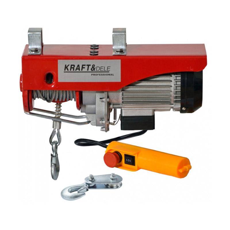 Ηλεκτρικό Παλάγκο Συρματόσχοινου 250/500 Kg 1000 W Kraft&Dele KD-1525