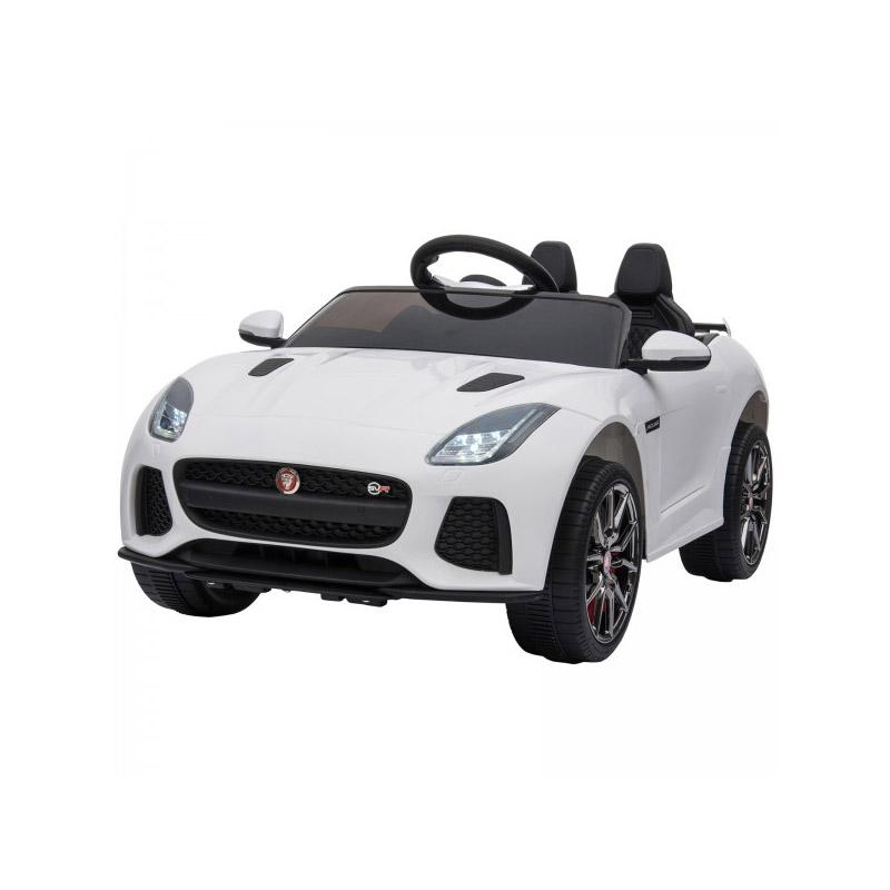 Ηλεκτροκίνητο Αυτοκίνητο Jaguar F SVR 6 V Χρώματος Λευκό HOMCOM 370-073V70WT