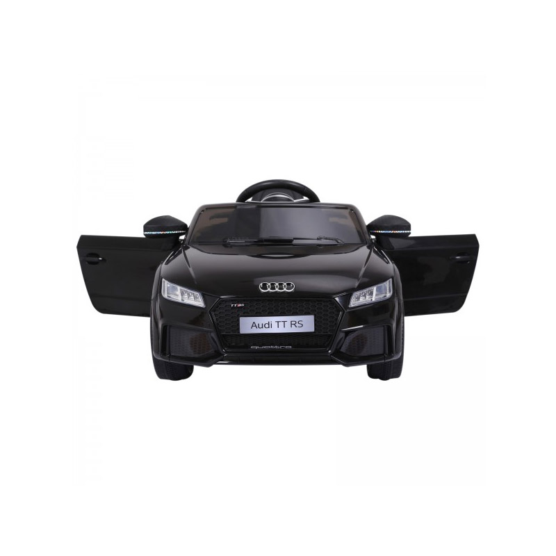 Ηλεκτροκίνητο Αυτοκίνητο Audi TT RS 6 V Χρώματος Μαύρο HOMCOM 370-079V70BK