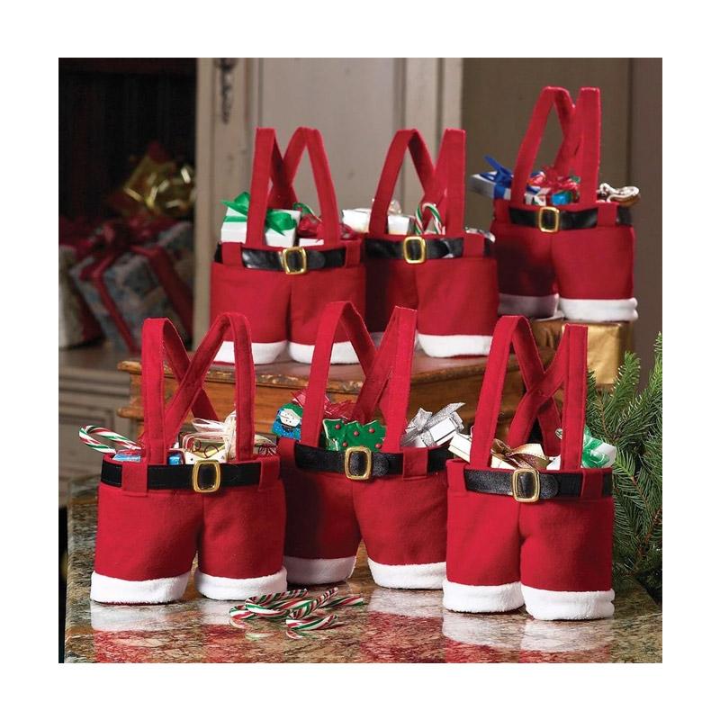 Χριστουγεννιάτικη Τσάντα Δώρου Santa Pants SPM DYN-SantaGiftBag
