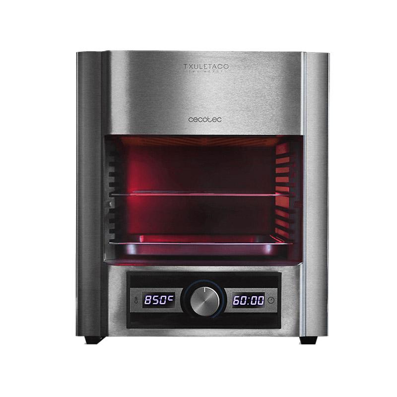 Ψηστιέρα 850 °C για Επαγγελματικό Ψήσιμο σε 3 Λεπτά 2000 W Cecotec Txuletaco The Beast Steel 7850 CEC-03064