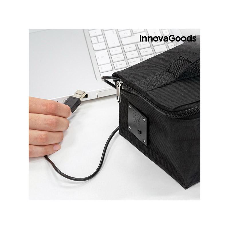 Ισοθερμικό Θερμαινόμενο Lunchbox με USB InnovaGoods V0100996