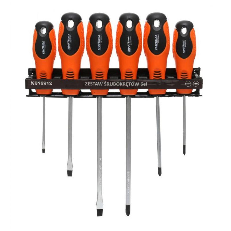Σετ Μαγνητικά Κατσαβίδια 6 τμχ Kraft&Dele KD-10912