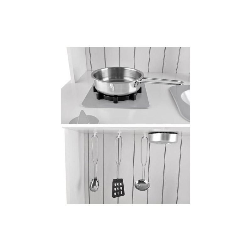Ξύλινη Παιδική Κουζίνα με Αξεσουάρ Kruzzel 9146