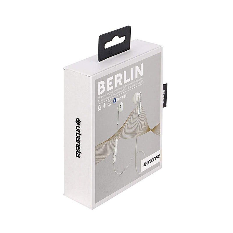 Ασύρματα Ακουστικά Bluetooth Χρώματος Λευκό Urbanista Berlin Fluffy Cloud 1033903