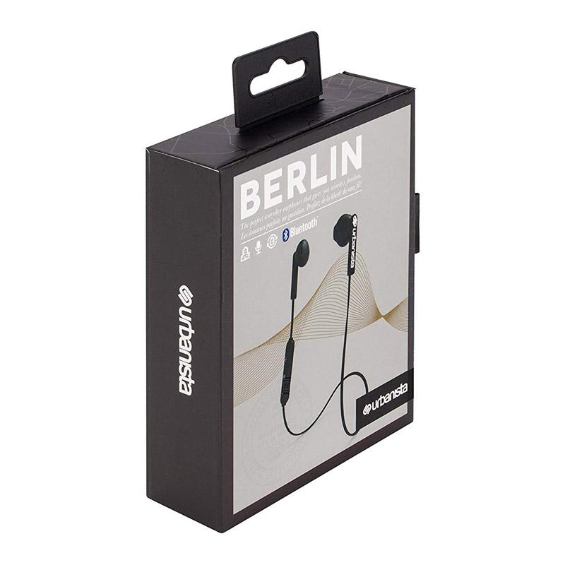 Ασύρματα Ακουστικά Bluetooth Χρώματος Μαύρο Urbanista Berlin 1033902