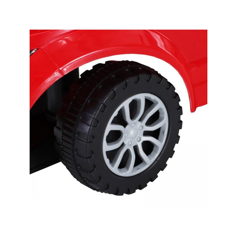 Αυτοκινητάκι - Περπατούρα 3 σε 1 Χρώματος Κόκκινο HOMCOM 370-083RD