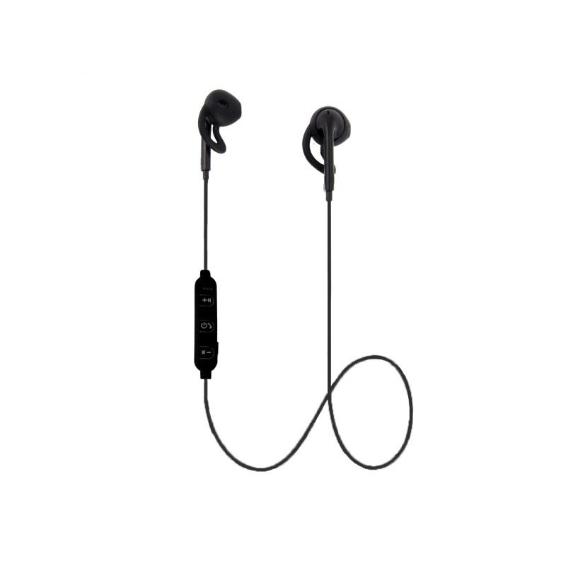 Ασύρματα Ακουστικά Bluetooth Χρώματος Μαύρο Esperanza Sport Earphones EH187K