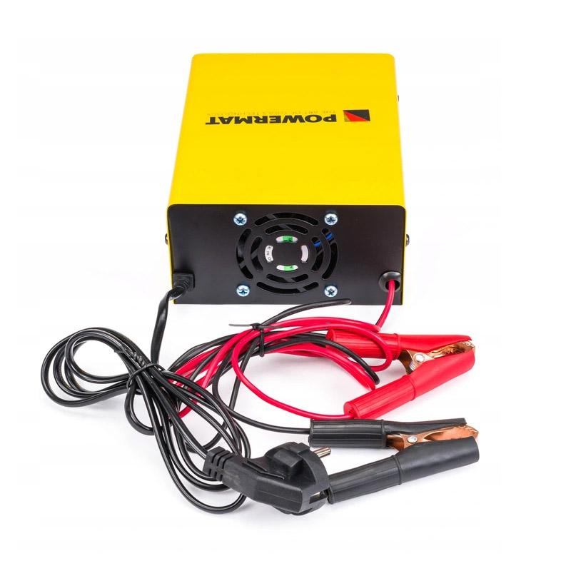 Φορτιστής Μπαταρίας Αυτοκινήτου με Μικροεπεξεργαστή 12/24 V 10 A POWERMAT PM-PM-50B