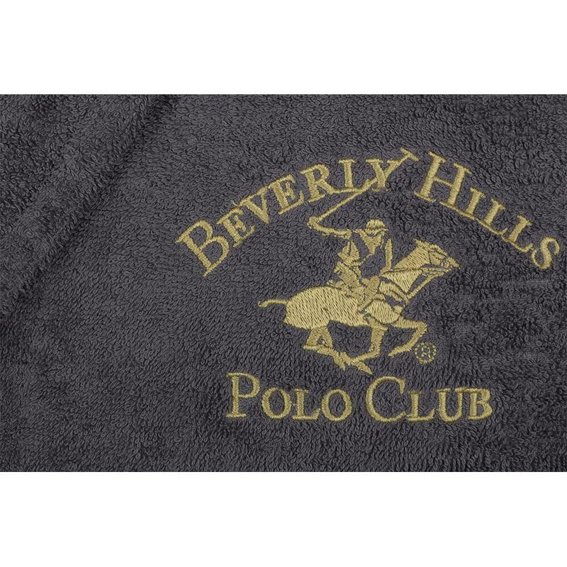 Ανδρικό Μπουρνούζι Χρώματος Ανθρακί Beverly Hills Polo Club 355BHP1723