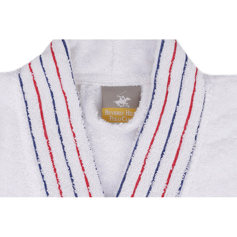 Ανδρικό Μπουρνούζι Χρώματος Λευκό Beverly Hills Polo Club 355BHP1701