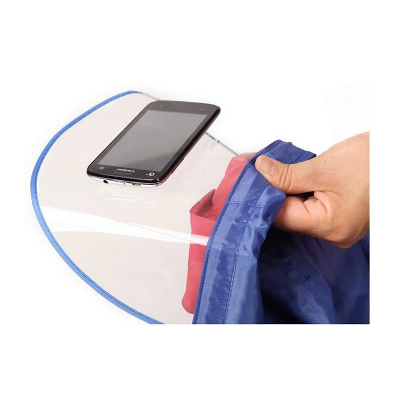Ενισχυμένο Προστατευτικό Αδιάβροχο Κάλυμμα Μηχανής - Αναβάτη Χρώματος Μπλε MWS1041