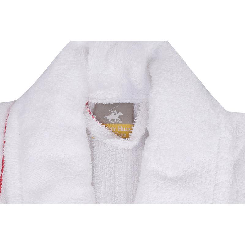 Μπουρνούζι Χρώματος Λευκό Beverly Hills Polo Club 355BHP1717