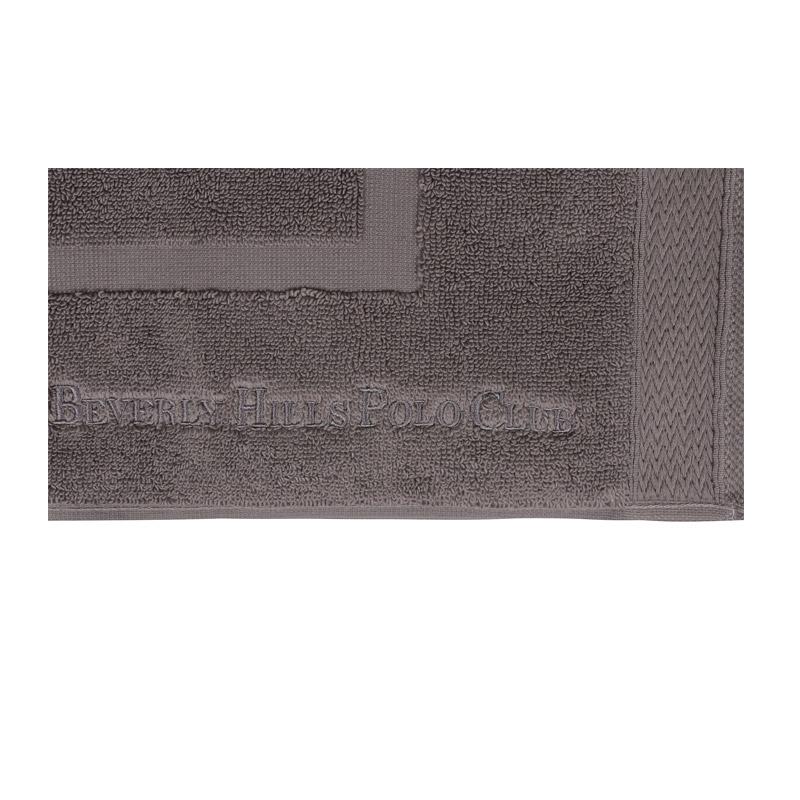 Σετ με 2 Χαλάκια Μπάνιου 50 x 86 cm Χρώματος Γκρι Beverly Hills Polo Club 355BHP2209