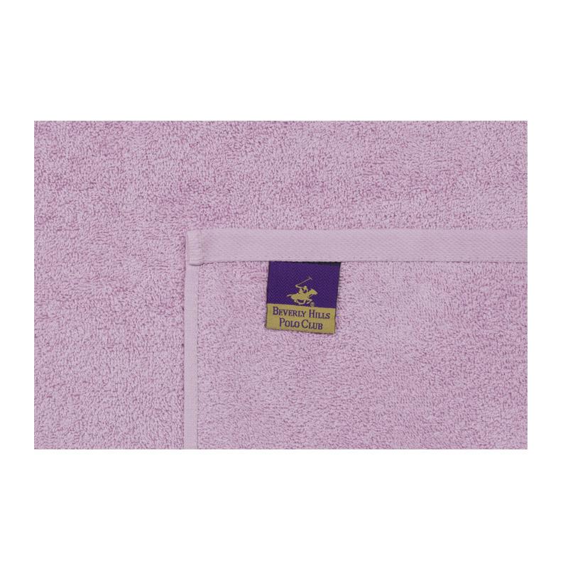 Σετ με 3 Πετσέτες Προσώπου 50 x 90 cm Χρώματος Ροζ - Λιλά - Γκρι Beverly Hills Polo Club 355BHP2292