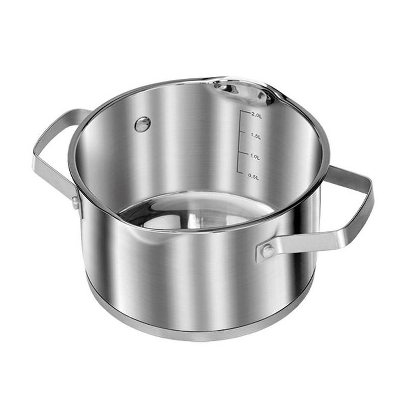 Σετ Μαγειρικών Σκευών 10 τμχ από Ανοξείδωτο Ατσάλι MPM Smile MGK-11