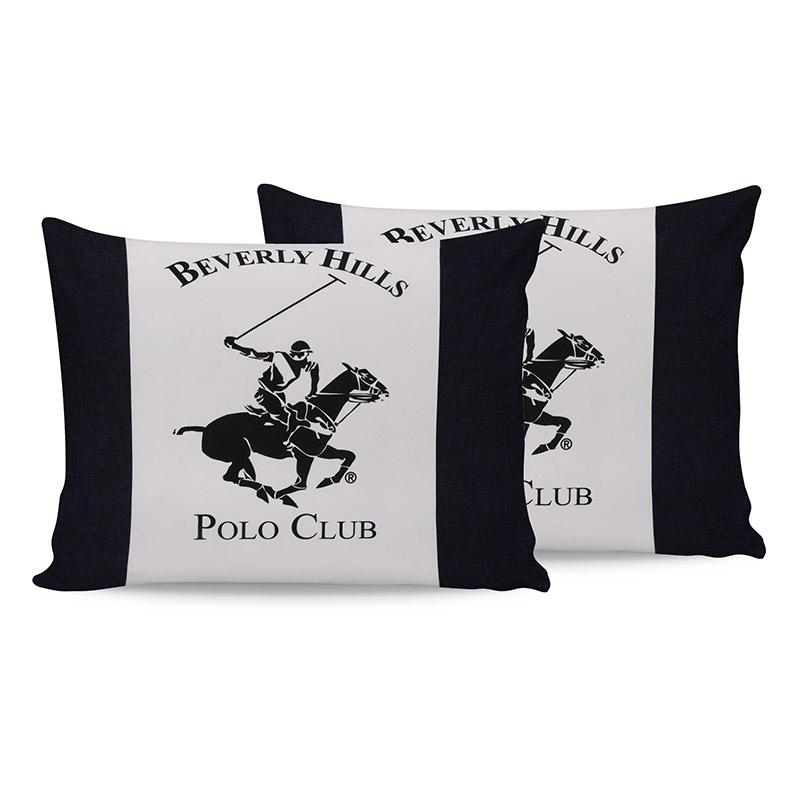 Σετ Μαξιλαροθήκες 50 x 70 cm 2 τμχ Beverly Hills Polo Club 176BHP0120