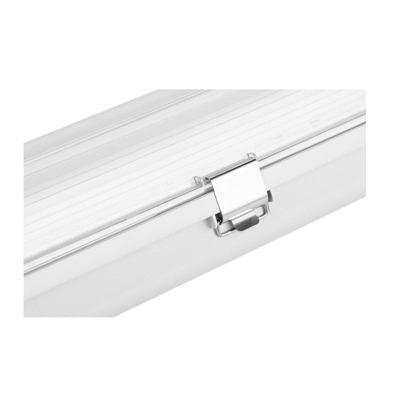 Διπλό Φωτιστικό Φθορίου Οροφής Σκαφάκι 120 cm IP65 με 2 Λαμπτήρες LED 2 x 18 W SPM 8719033876064