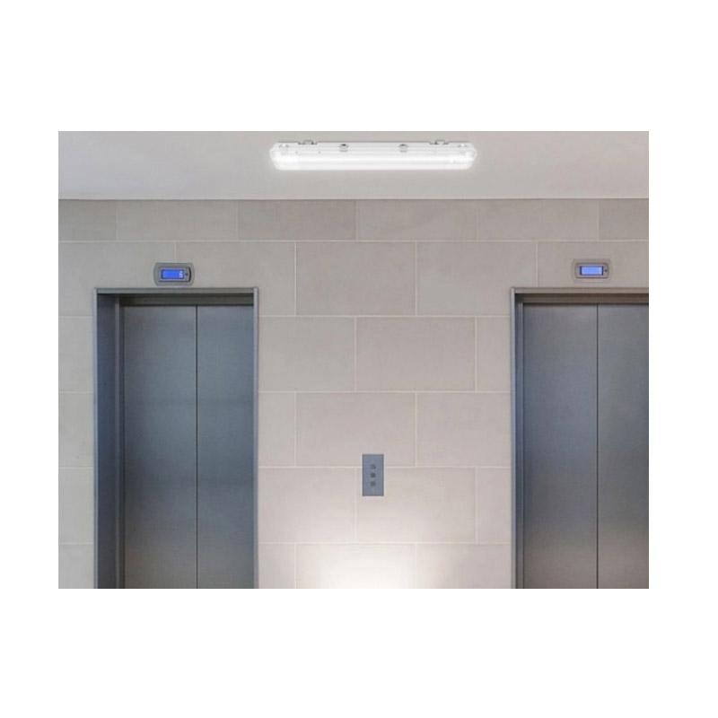 Διπλό Φωτιστικό Φθορίου Οροφής Σκαφάκι 120 cm IP65 με 2 Λαμπτήρες LED 2 x 18 W 2 Duo Pack SPM 8719831798391