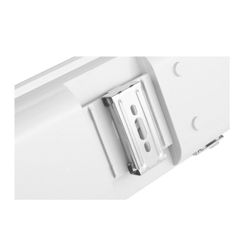Φωτιστικό Φθορίου Οροφής Σκαφάκι 120 cm IP65 με Λαμπτήρα LED 18 W Duo Pack SPM 8719831798407
