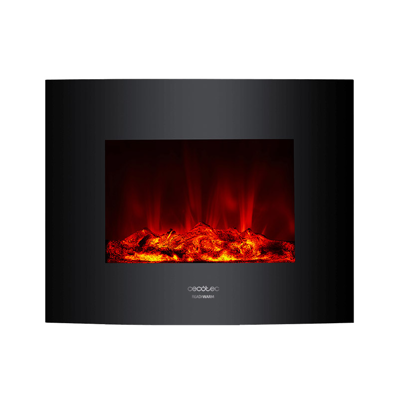 Ηλεκτρικό Τζάκι Τοίχου με Τηλεχειριστήριο Cecotec Ready Warm 2600 CEC-05366