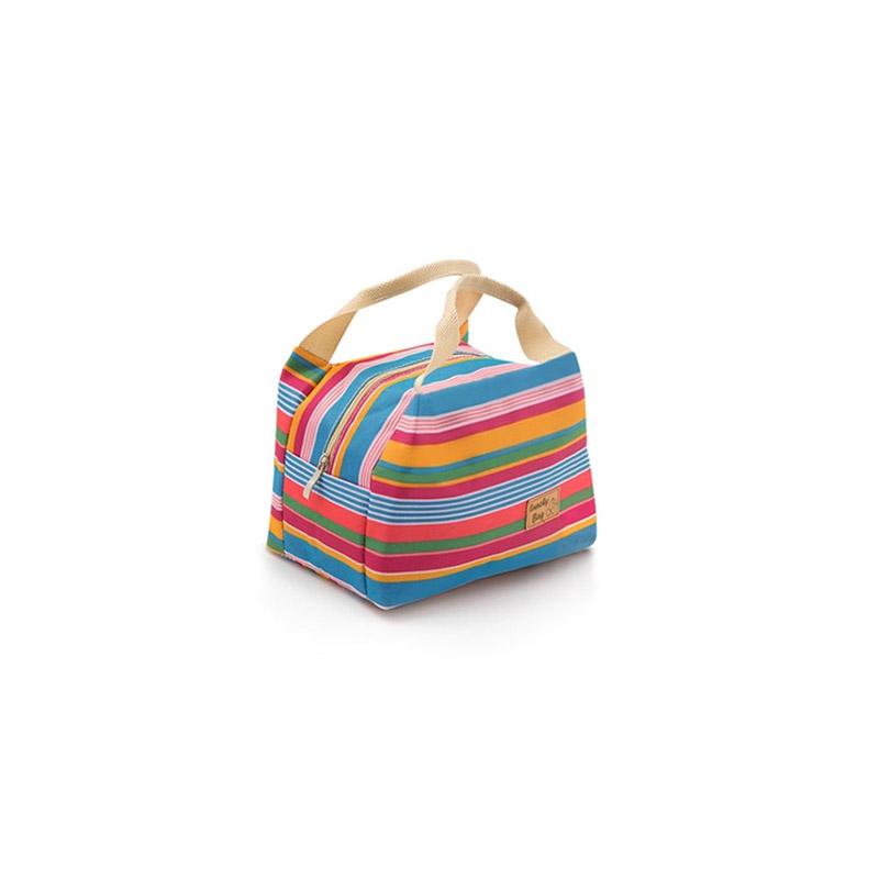 Ισοθερμική Τσάντα Φαγητού Χρώματος Μπλε SPM 40050113