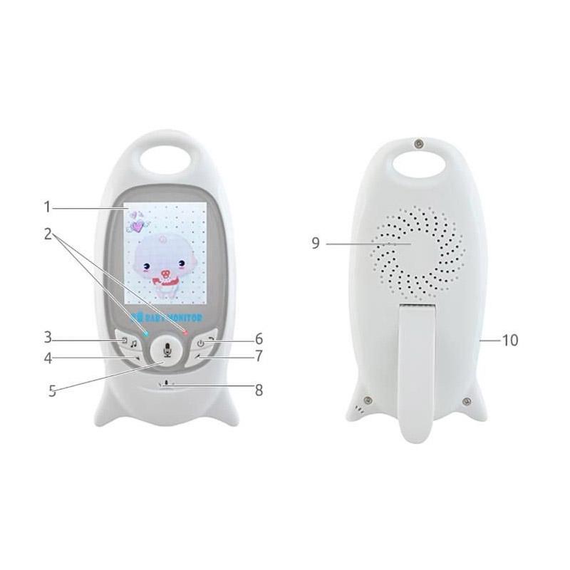 Συσκευή Παρακολούθησης Μωρού με LCD Οθόνη SPM 5747