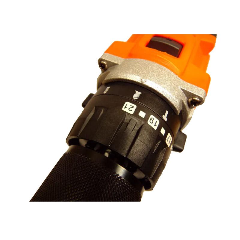 Επαναφορτιζόμενο Κρουστικό Δραπανοκατσάβιδο με 2 Μπαταρίες 20V / 1.5Ah Kraft&Dele KD-1728