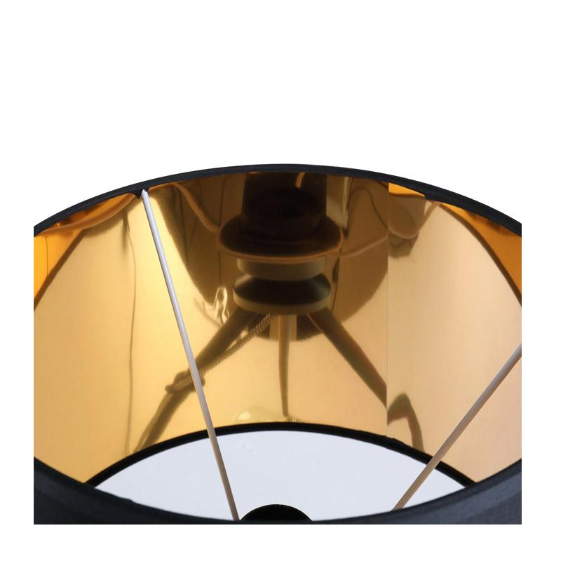 Μεταλλικό Τρίποδο Επιτραπέζιο Φωτιστικό 40 W Χρώματος Μαύρο HOMCOM B31-133V70BK