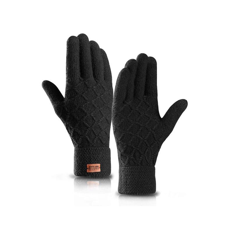 Πλεκτά Γάντια για Οθόνη Αφής Χρώματος Μαύρο SPM DYN-DTGloves-BLK